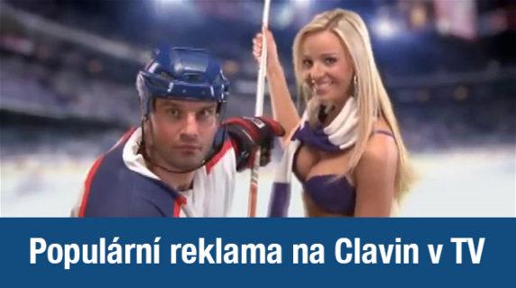 televizní reklama na clavin